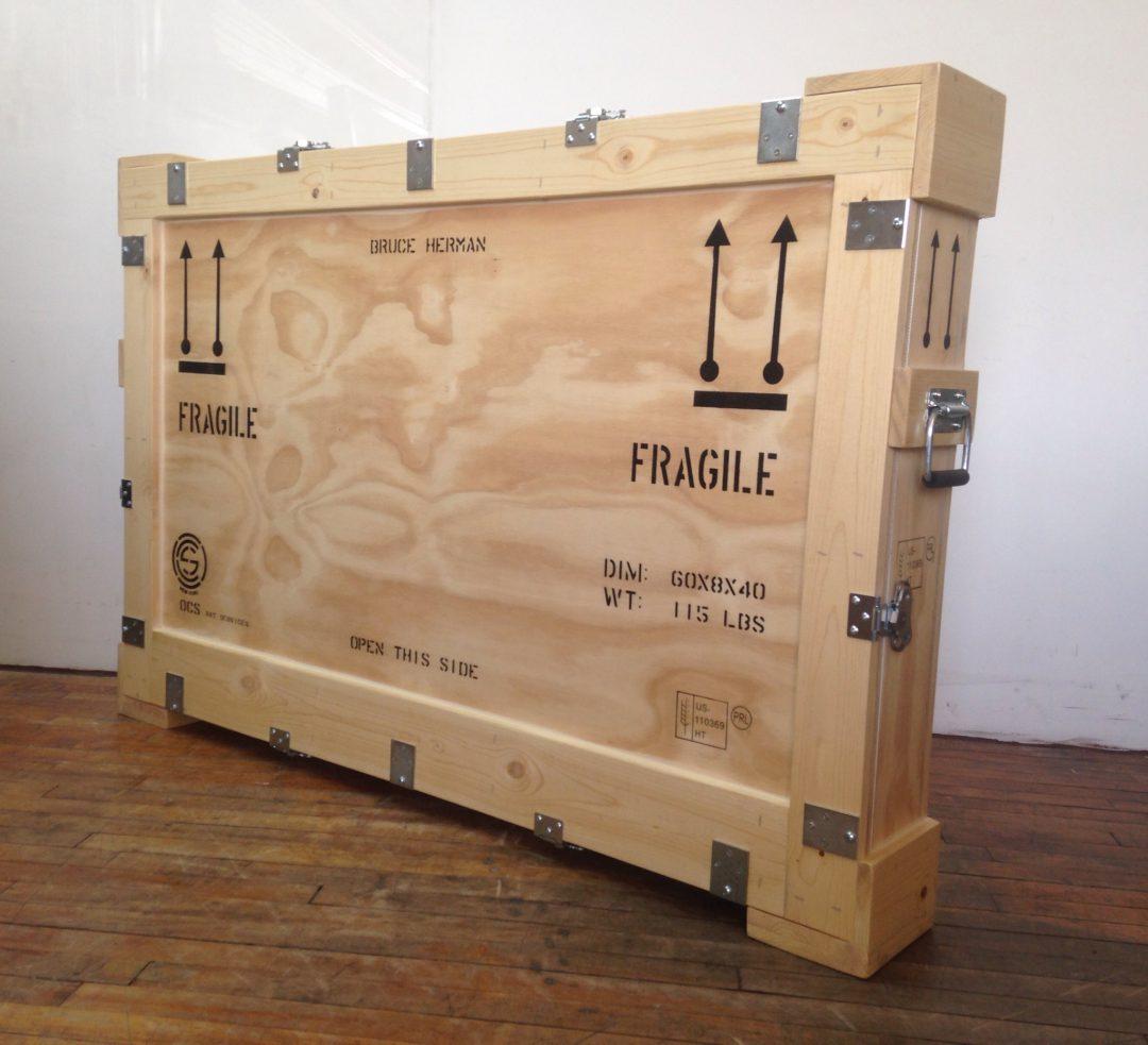 Elegant Wooden Shipping Crate Furniture