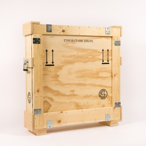 exhibtion crate angle